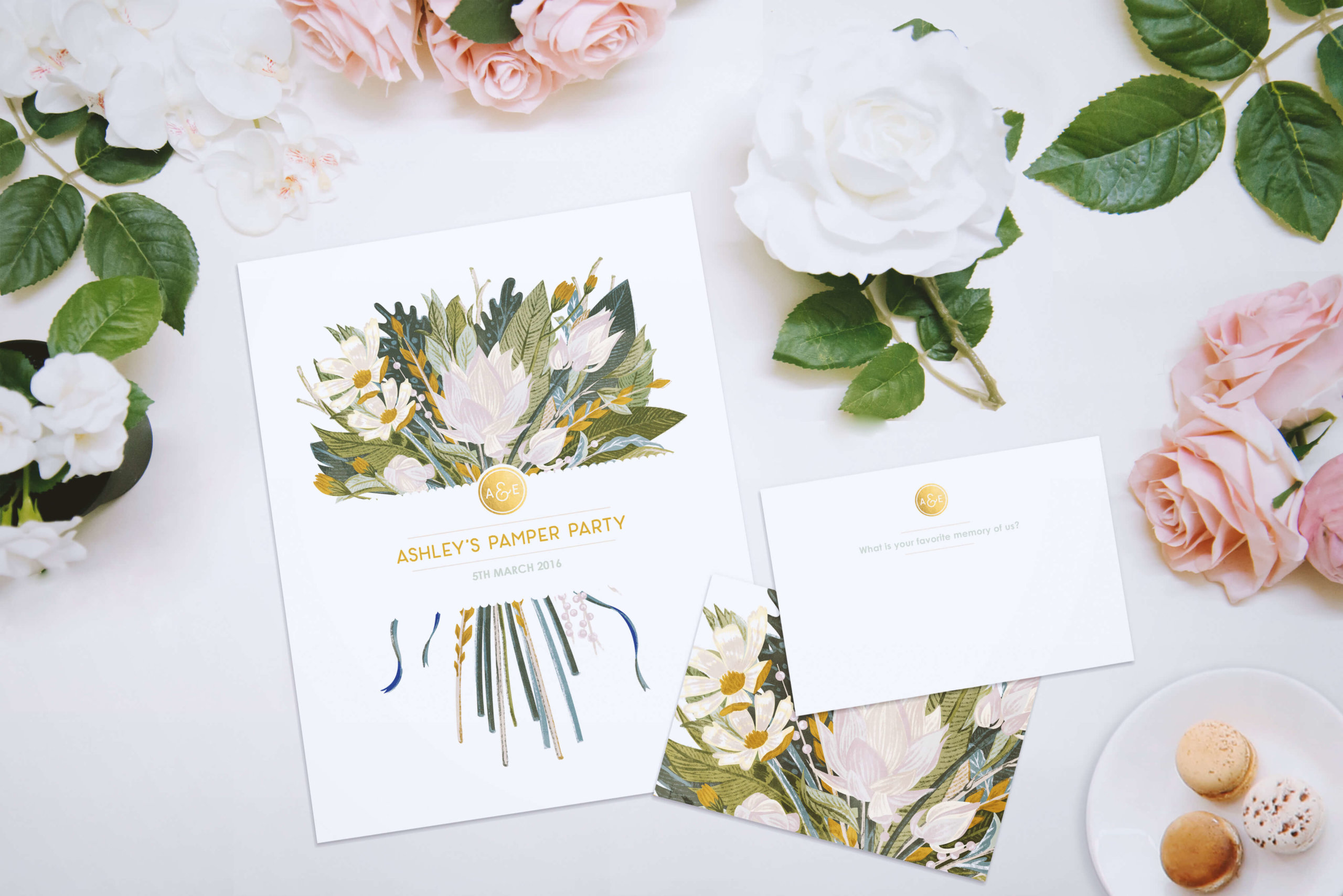 aurora creative studio graphic design illustration cape town portfolio bushveld wedding stationery