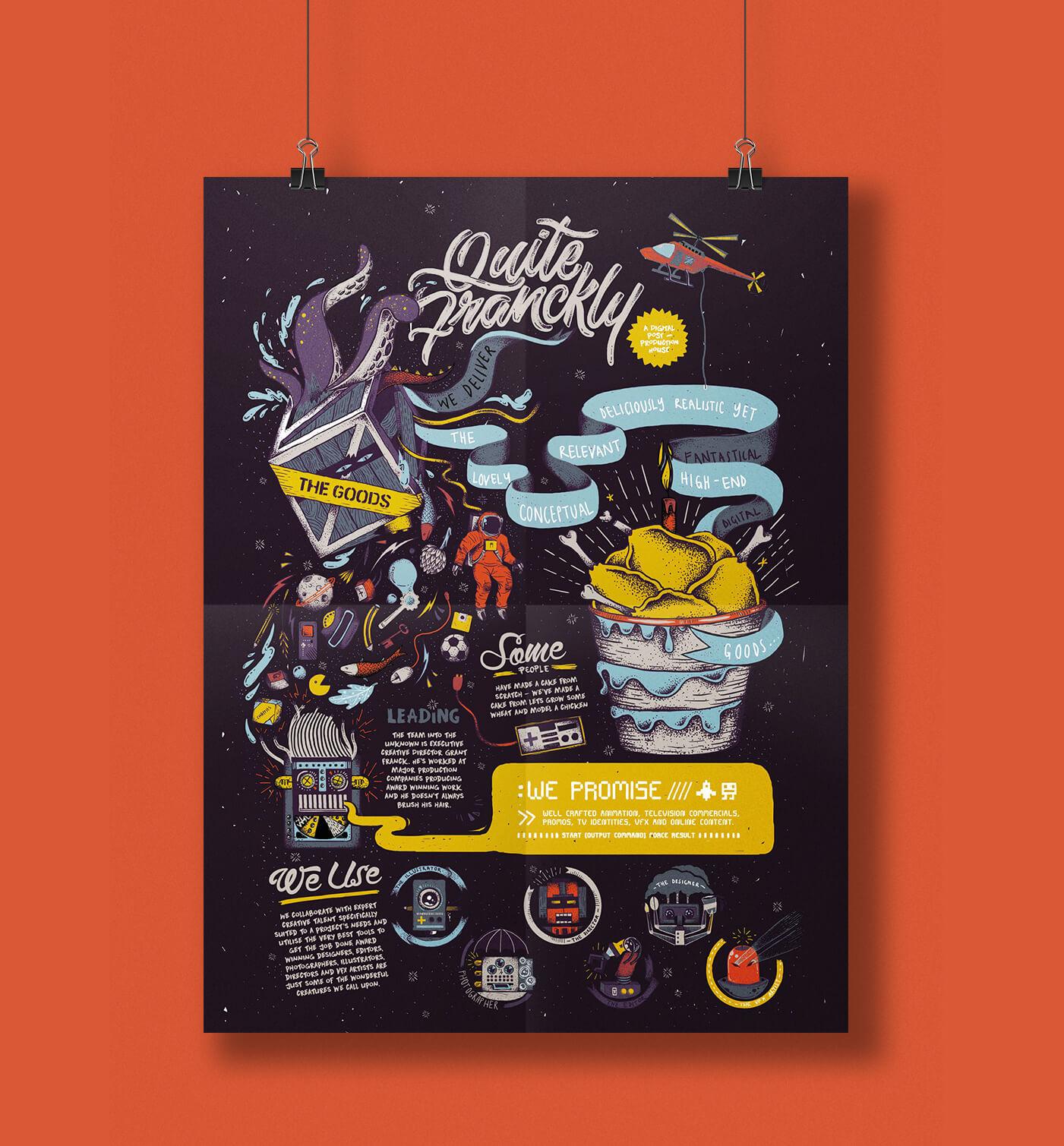 aurora creative studio graphic design illustration cape town portfolio poster