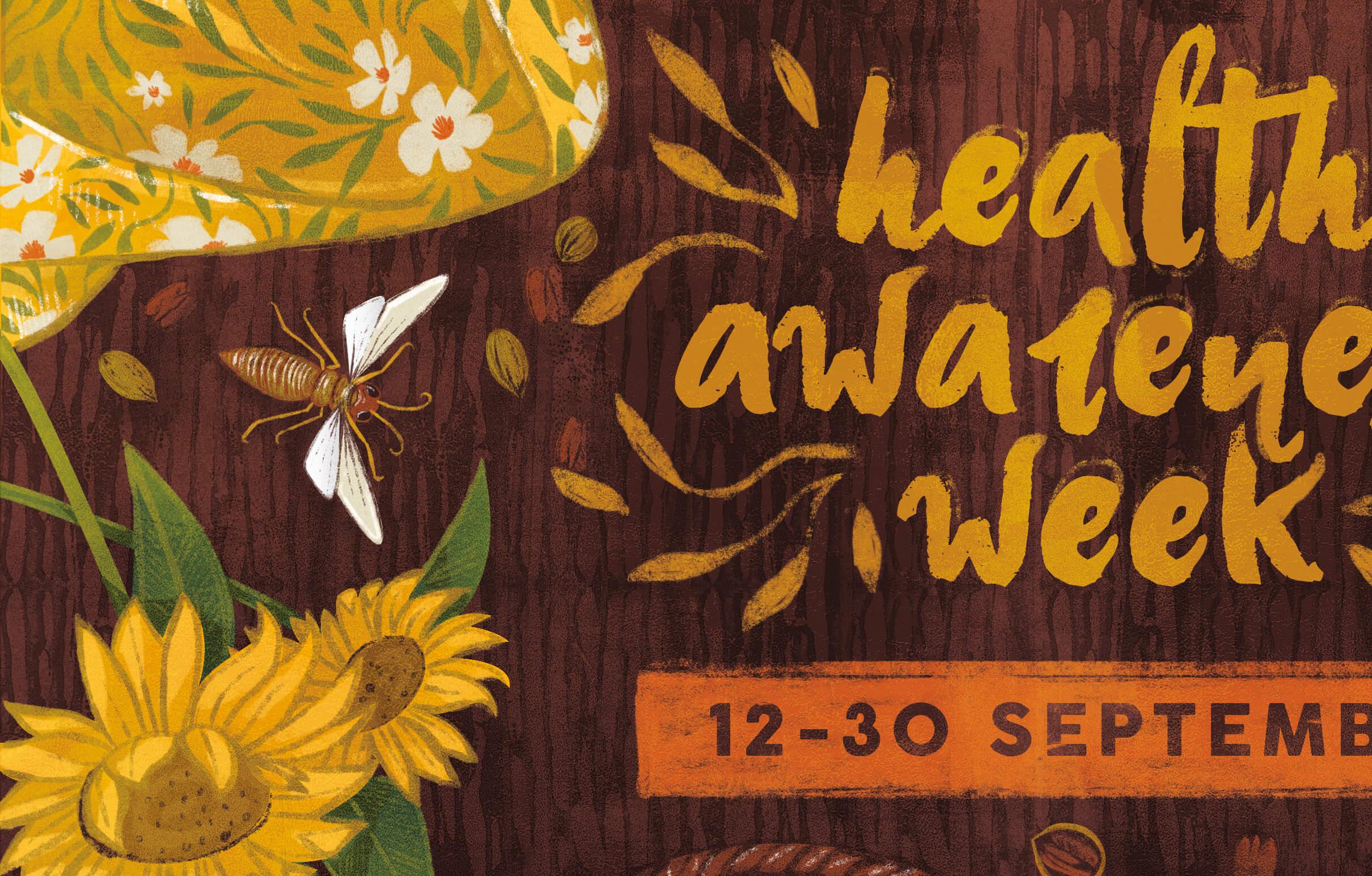 aurora creative studio graphic design illustration cape town portfolio health awareness poster