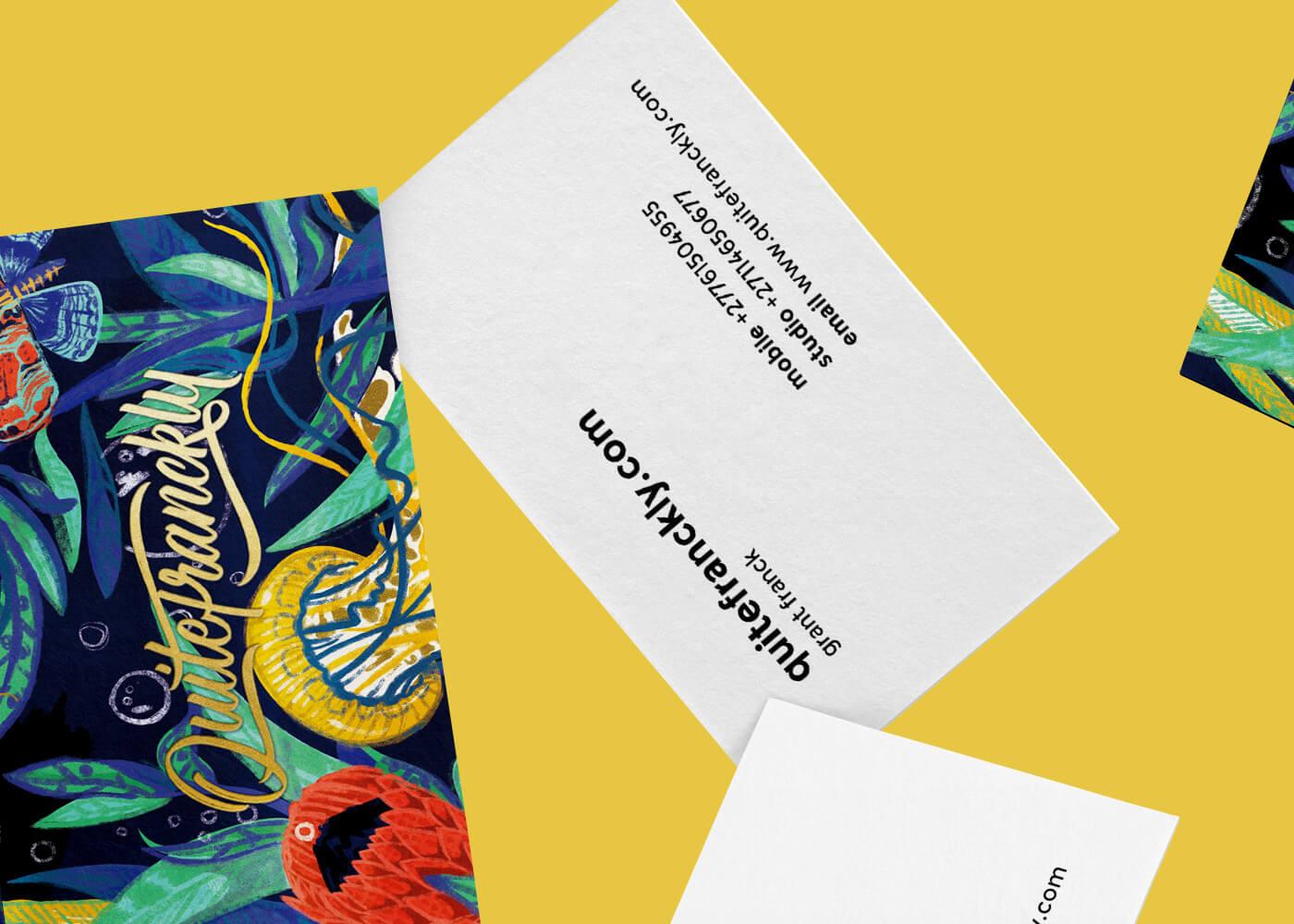 aurora creative studio graphic design illustration cape town portfolio branding quite franckly